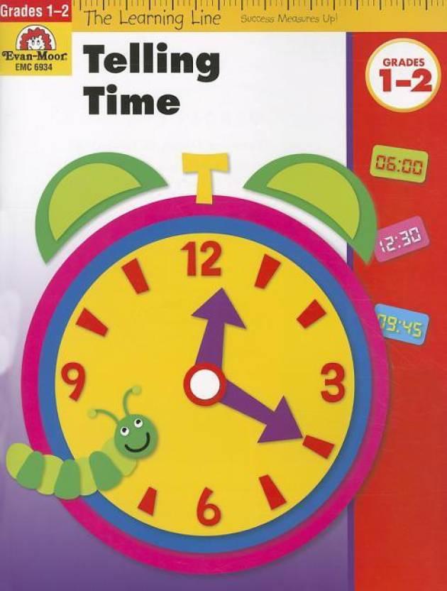 Telling Time, Grades 1-2: Buy Telling Time, Grades 1-2 by Evan-Moor