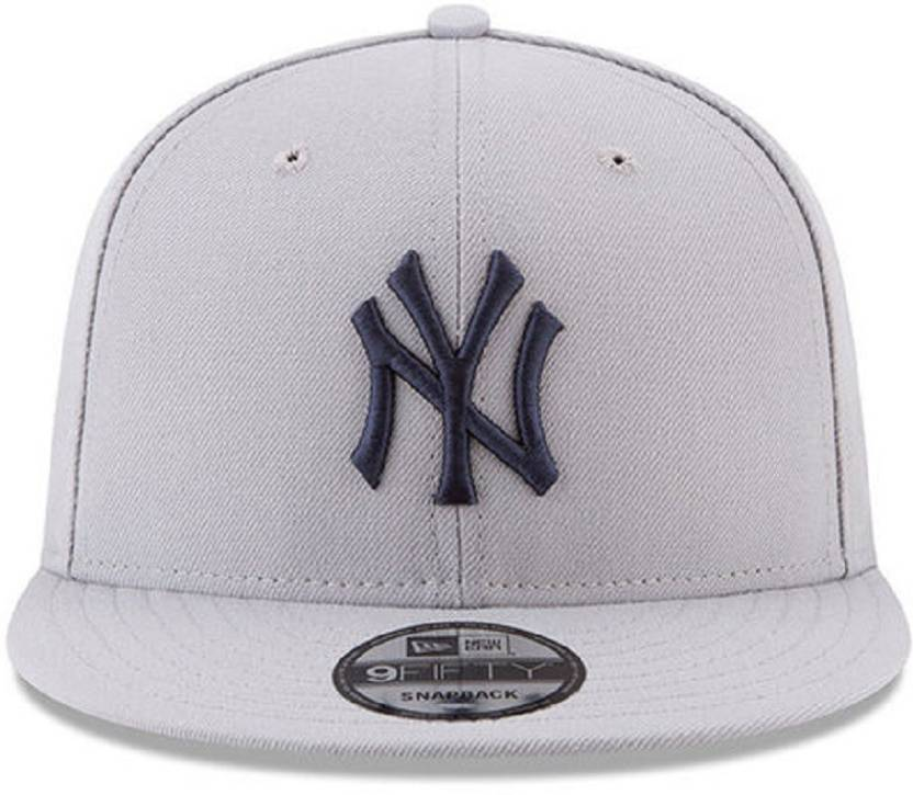 41466ebf197c0 FAS Embroidered Grey NY Hiphop and Snapback Cap - Buy FAS Embroidered Grey NY  Hiphop and Snapback Cap Online at Best Prices in India