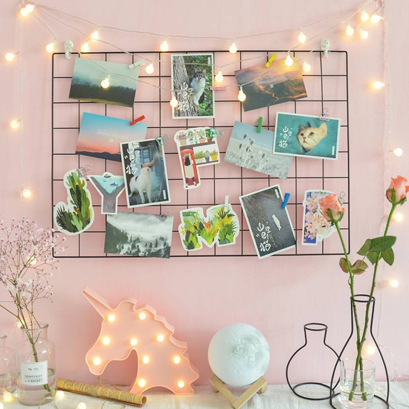 WollWoll Wire Mesh Photo Frame