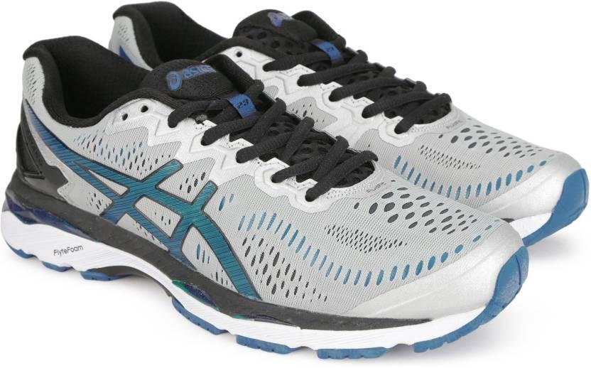 7547e13e45 Asics GEL-Kayano 23 Running Shoes For Men - Buy Silver/Imperial ...
