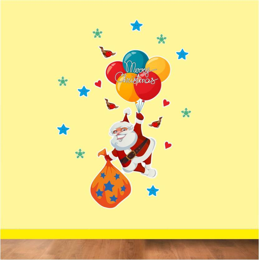 Christmas Vinyl Decals.Anisha S Art Decals Xxl Christmas Vinyl Sticker Santa Claus