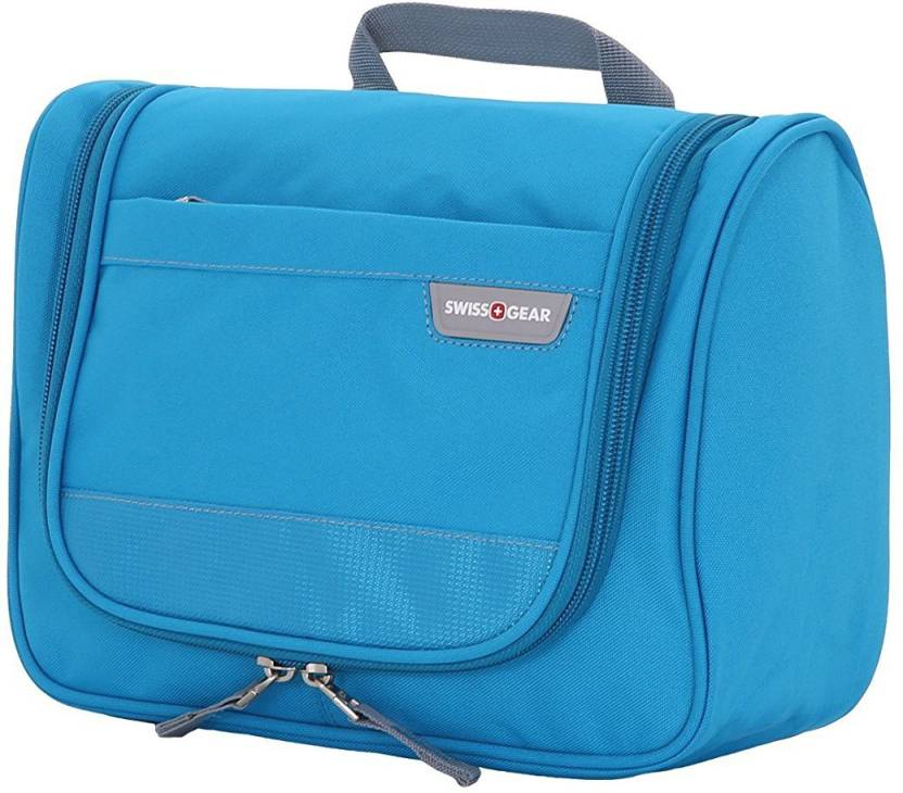Swiss Gear Toiletry Bag Travel Toiletry Kit Blue - Price in India ... db6b90ecf742f
