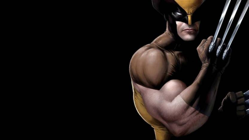 ashd wolverine hd wall poster paper print comics posters in india