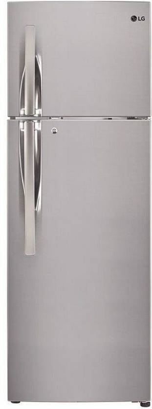 5f90e6ef6d6 LG 284 L Frost Free Double Door 4 Star Refrigerator Online at Best ...