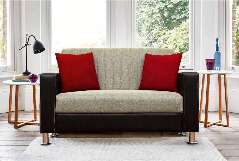 Peachtree Viva 2 Seater Sofa Fabric 2 Seater Sofa Price in ...