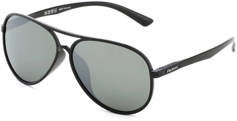 8f91d4acb8 Buy PARIM Aviator Sunglasses Grey For Men   Women Online   Best ...