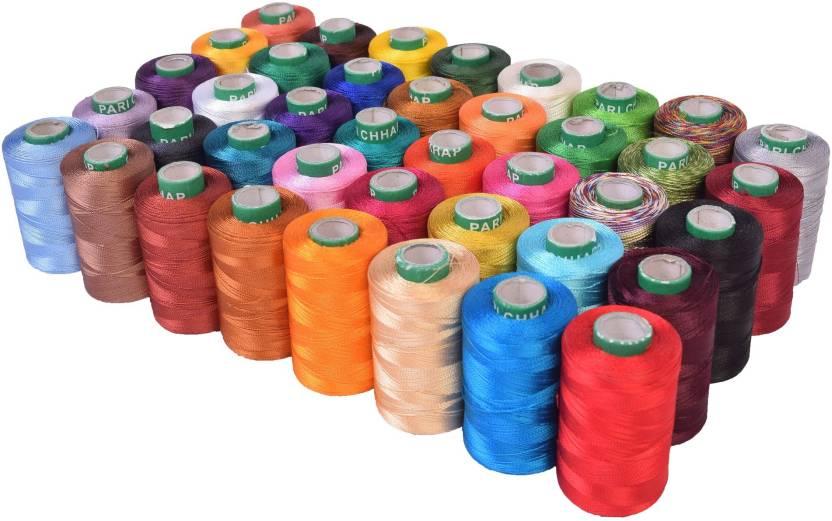 Vardhman Multicolor Thread Price In India Buy Vardhman Multicolor Amazing Sewing Machine Threads Online India