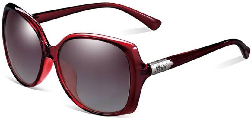 22750eb431 Buy PARIM Rectangular Sunglasses Brown For Women Online   Best ...