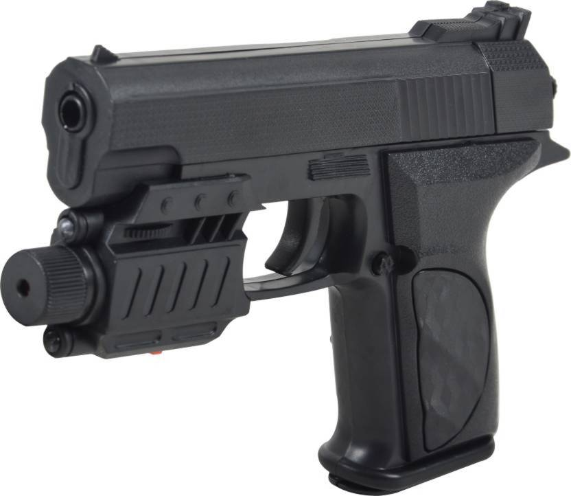 SBBN AIR MOUSER GUN NO P138D WITH 100 YELLOW BULLETS