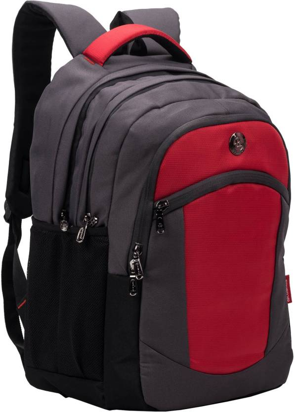 Cosmus Madison Grey Red 33 L waterproof Bag With laptop compartment 33 L  Backpack (Multicolor) f42c4646b7d6d