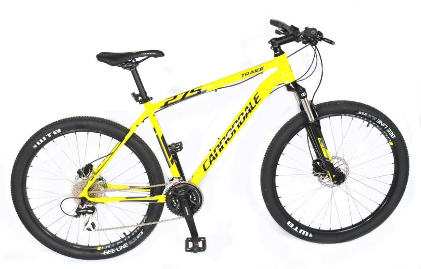 c11c1a80966 Cannondale Trail 6 27.5 Hydrualic Bike For Adults 27.5 T Mountain/Hardtail  Cycle (24 Gear, Multicolor)