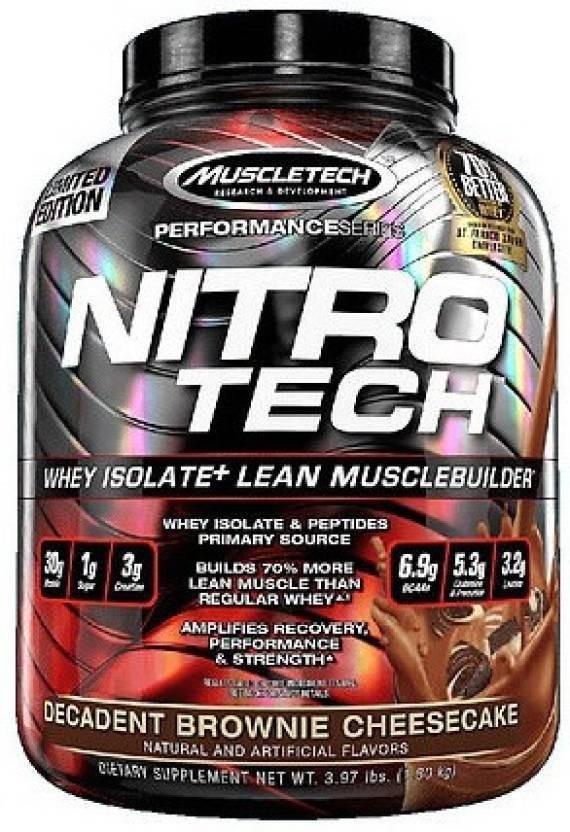 Muscletech nitro tech hardcore strawberry