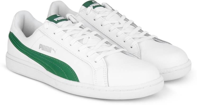 031b98d4e5f Puma Smash L IDP Sneakers For Men - Buy Puma White-Verdant Green ...