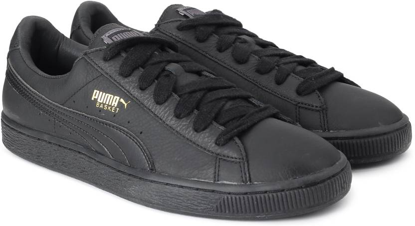 199fc7f83c10 Puma Basket Classic LFS Sneakers For Men - Buy black-team gold Color ...