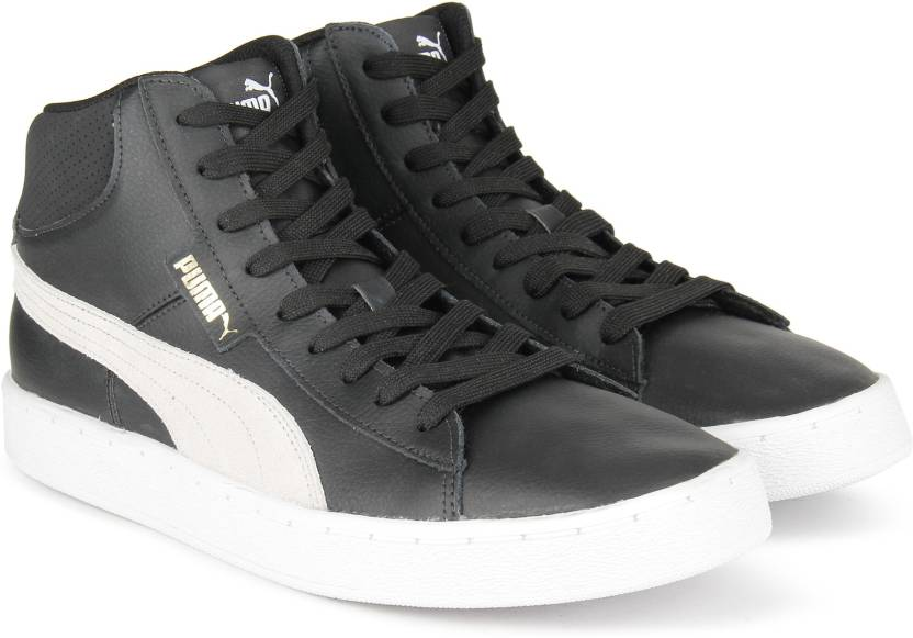 Puma 1948 Mid L Sneakers For Men - Buy Puma Black-Puma White Color ... ddc76a84c