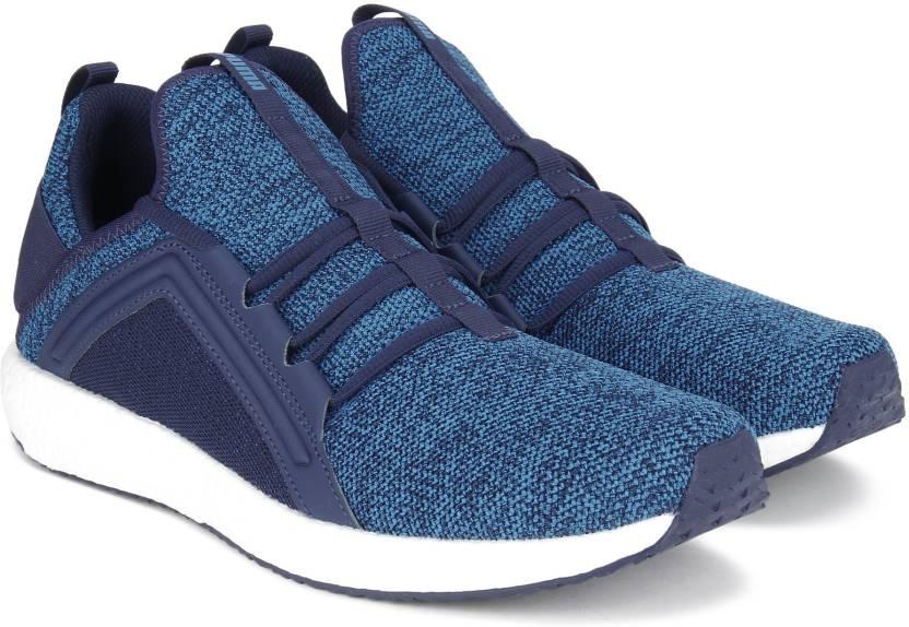 a69d944cd6d729 Puma Mega NRGY Knit Running Shoes For Men - Buy Blue Depths-Lapis ...