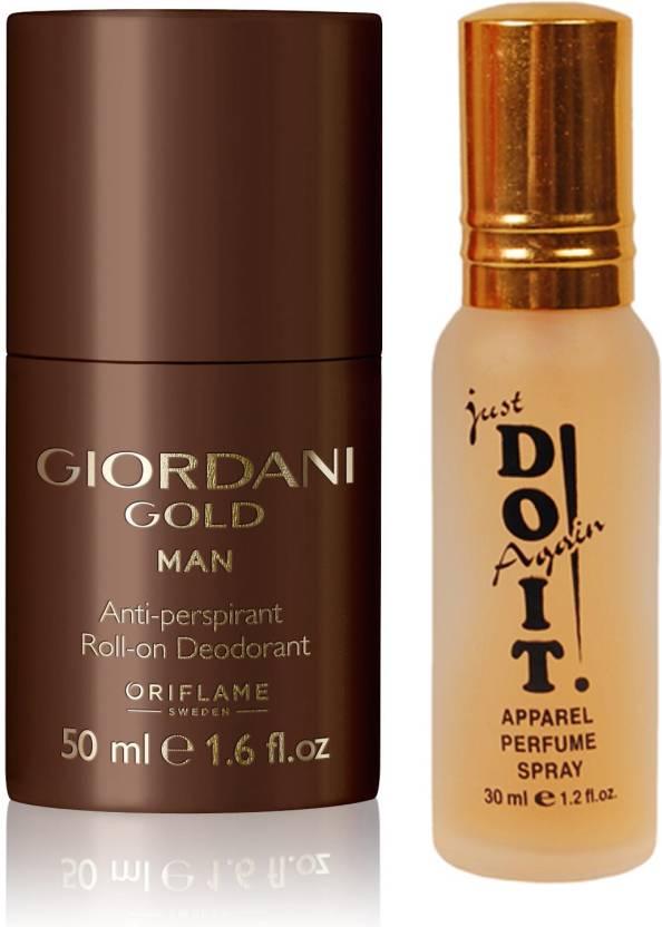 Oriflame Sweden Giordani Gold Man Anti Perspirant Roll On Deodorant