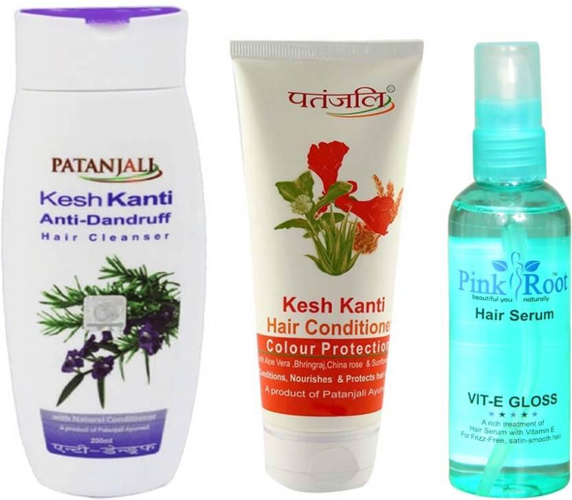 Patanjali Kesh Kanti Anti Dandruff Shampoo With Colour Protect