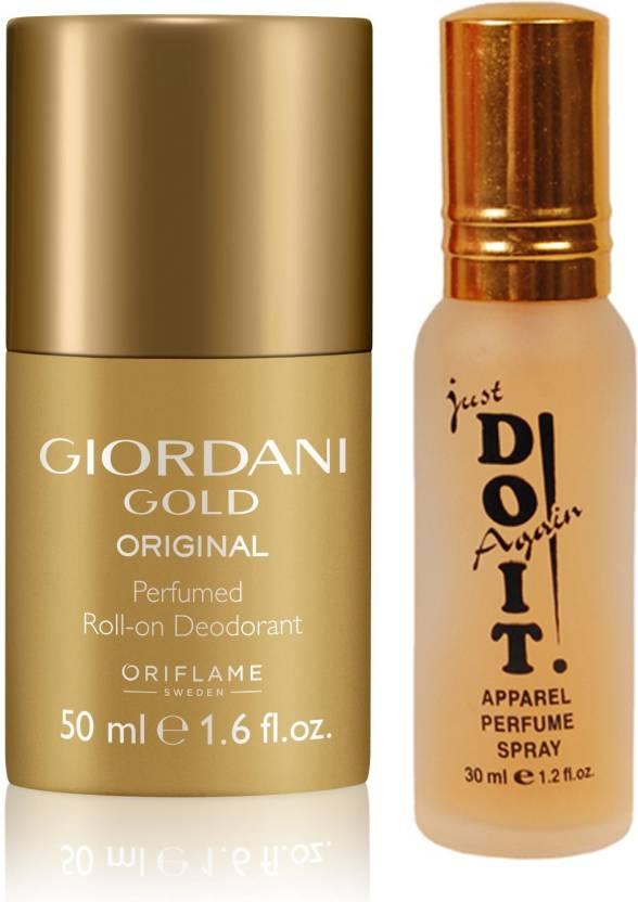 Oriflame Sweden Giordani Gold Original Perfumed Roll On Deodorant