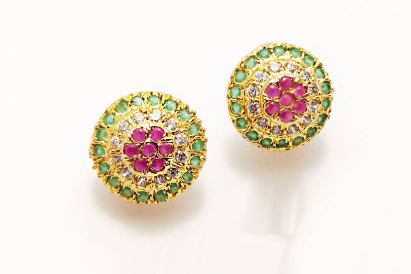 50167b1d856 Aionios Creations Aionios Creations Trendy American Diamond Designer Stunning  Stud Earrings For Women Girls With