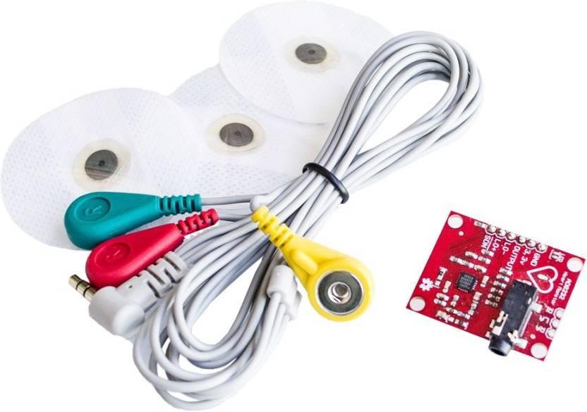 TechWiz Single Lead AD8232 ECG Monitoring Kit / Heart Beat
