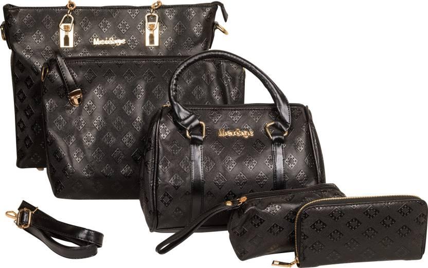 5768718942f0 Buy Mei Ge Shoulder Bag Black Online   Best Price in India ...