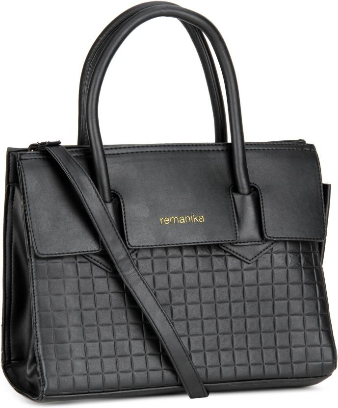 6616647f44 Buy Remanika Hand-held Bag Black Online @ Best Price in India ...