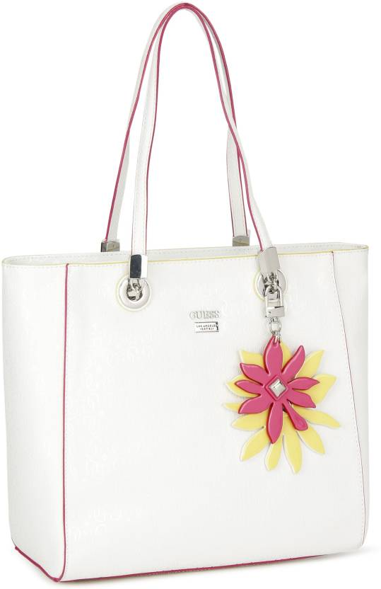 ee8ca69b2830 Buy Guess Tote WHITE Online   Best Price in India