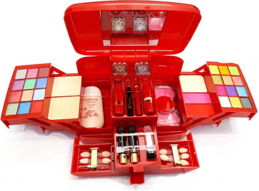 Kascn Original High Quality Makhmali Makeup Kit 8687 Bridal