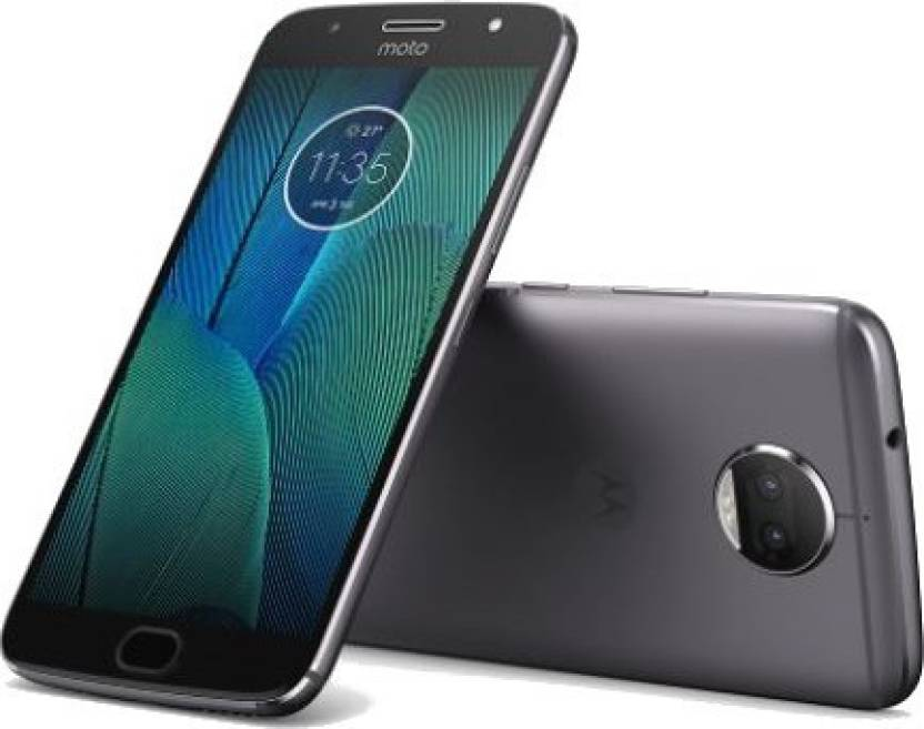 Moto G5s Plus (Lunar Grey, 64 GB)