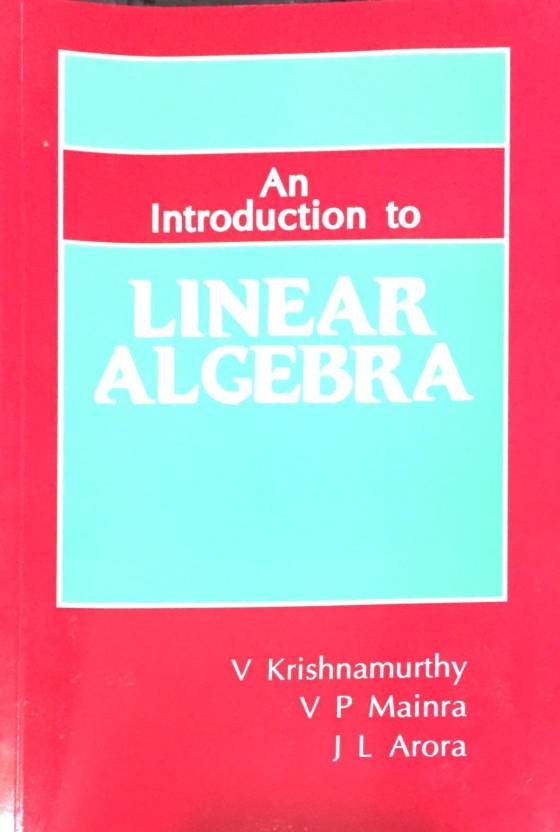 Introduction To Linear Algebra, 1/e PB First Edition - Buy ...