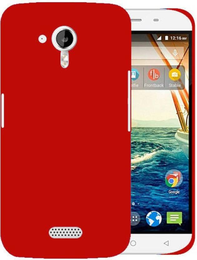 first rate b18b7 474a0 Cover Up Back Cover for Micromax Canvas HD A116 - Cover Up ...