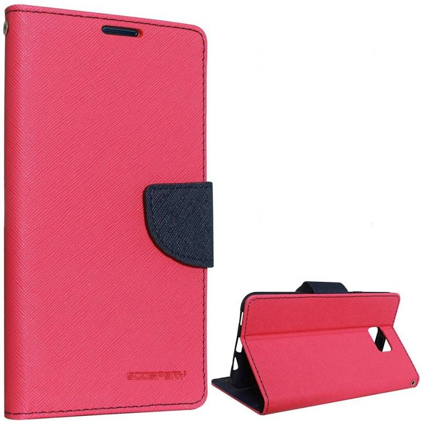 4ab877f4d0 Rozec Back Cover for Stylish Luxury Mercury Magnetic Lock Diary Wallet  Style Flip Cover For Samsung Galaxy J7Max - Red (red, Cases with Holder,  Rubber, ...
