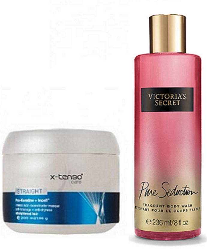 e00647598e9 M.A.C Paris X-Tenso Care Hair Masque With Victoria s Secret Pure Seduction  Fragrant Body Wash
