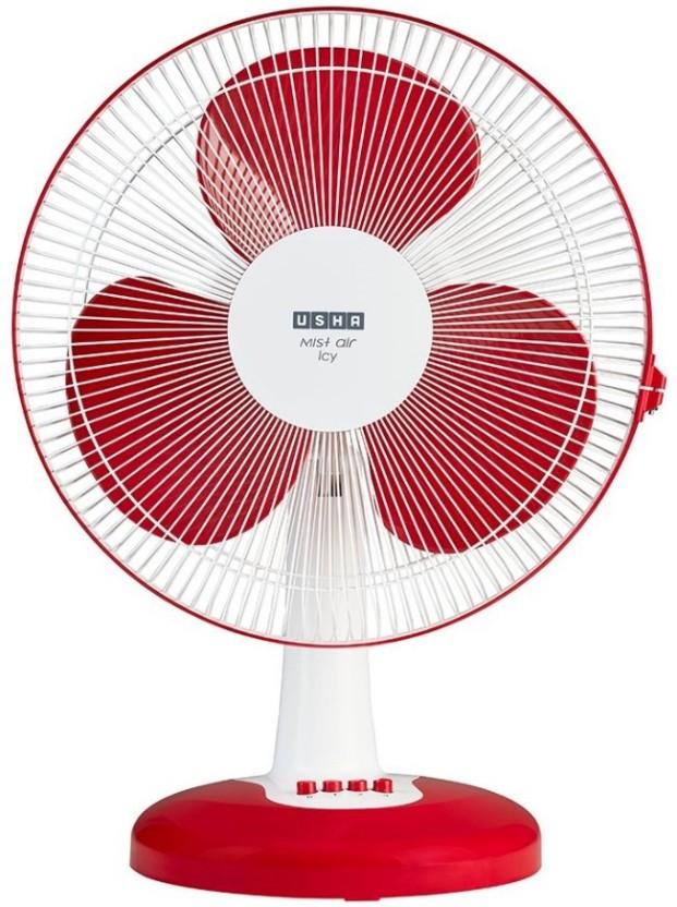 usha misty air icy 3 blade table fan price in india buy usha misty
