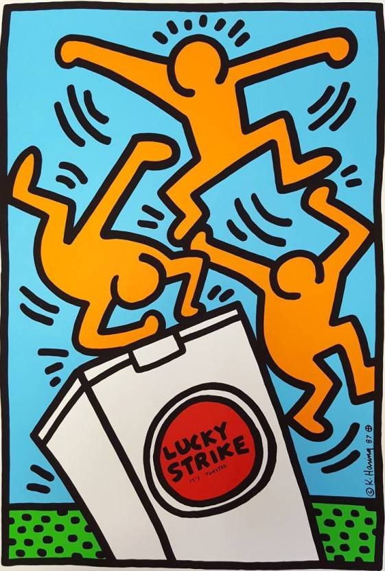 Lucky Strike By Keith Haring Top 10 Keith Haring