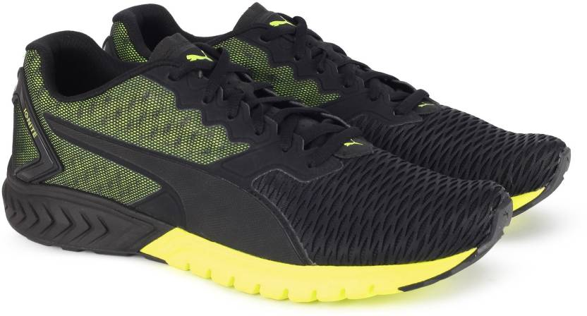 Puma IGNITE Dual Running Shoes For Men - Buy Puma Black-Safety ... f7eeddd00