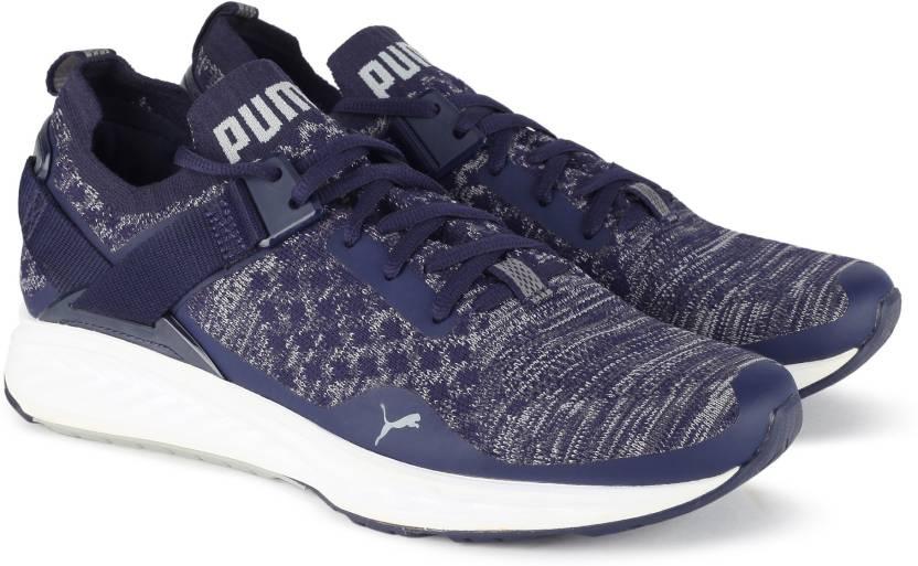 61d7c1a2449c Puma IGNITE evoKNIT Lo Running Shoes For Men - Buy Peacoat-Quarry ...