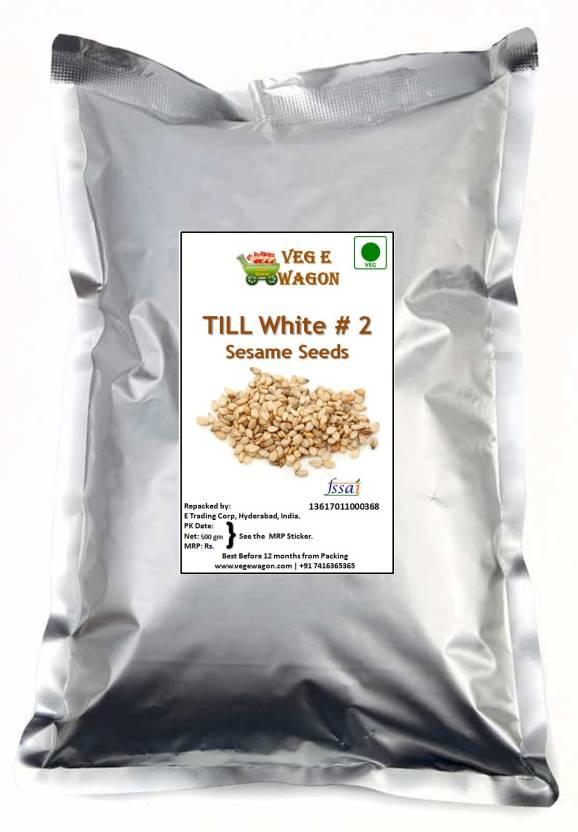 Veg E Wagon White Till (Sesame) # 2 500 gm Price in India - Buy Veg