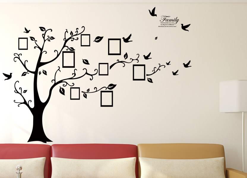 doodad extra large tree of family' wallsticker (matt vinyl) sticker