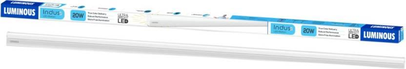 Luminous Indus Straight Linear LED Tube Light  (White)