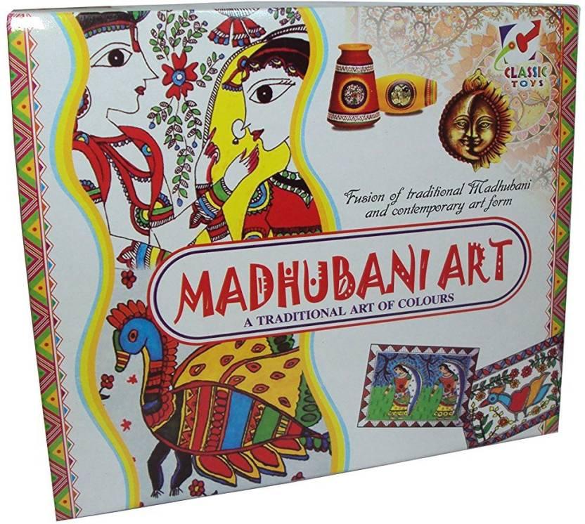 Gauravshopo Creative Educational Madhubani Art Game For Kids
