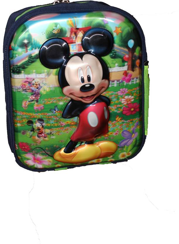 dab6eba05b5 Wonder Star Present Mickey Mouse 3D Print school Bag for NURSERY TO 1 CLASS  Under 6 Years Kids Girls Boys Small Size (L X B X H )( 35 x 30 x 12 cm) ...