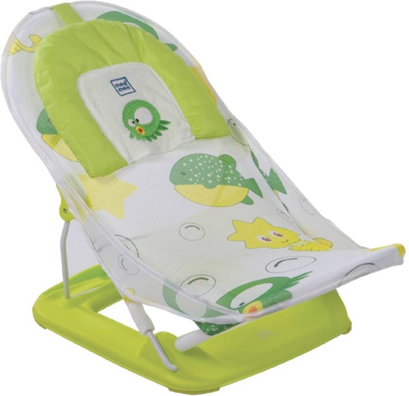 MeeMee Anti-Skid Compact Baby Bather (Green) Baby Bath Seat Price in ...