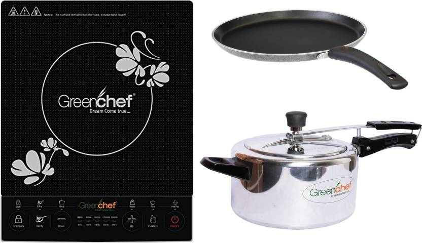 a97058c0aeb Greenchef Induction Bottom Cookware Set Price in India - Buy ...