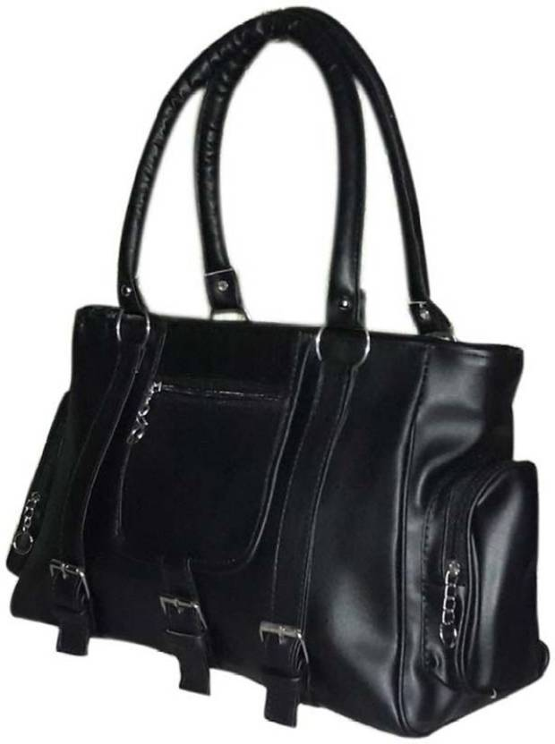 ebeb6a2dbda2 Buy Mukul Collection Shoulder Bag Black-00007 Online   Best Price in ...