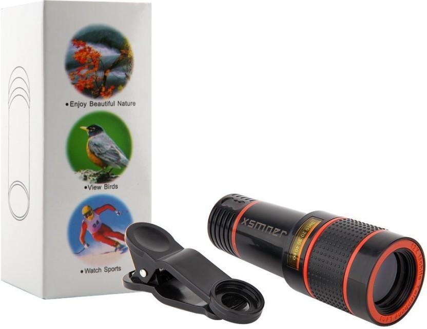 Vibex ™ hd zoom telescope lens clip on cell phone lens mobile