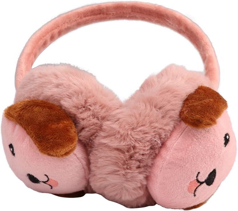 1efe14e8af9d8 FabSeasons Winter Wear Outdoor Adjustable Ear Muffs   Warmer   Cap for  Women   Girls Ear Muff (Pack of 1)