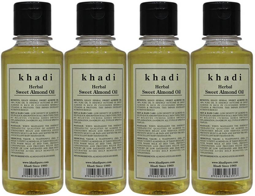Khadi Herbal Sweet Almond Oil - Buy Baby Care Products in
