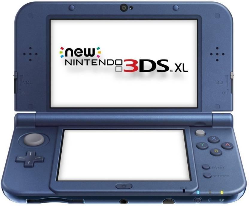 Nintendo New 3DS XL Blue Console Motion Controller